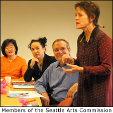 Members of the Seattle Arts Commission