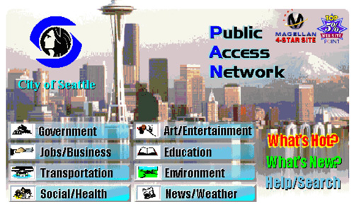 City of Seattle Home Page
