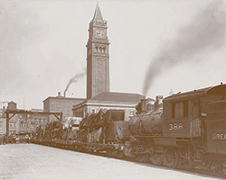 Historic image of King Street Station
