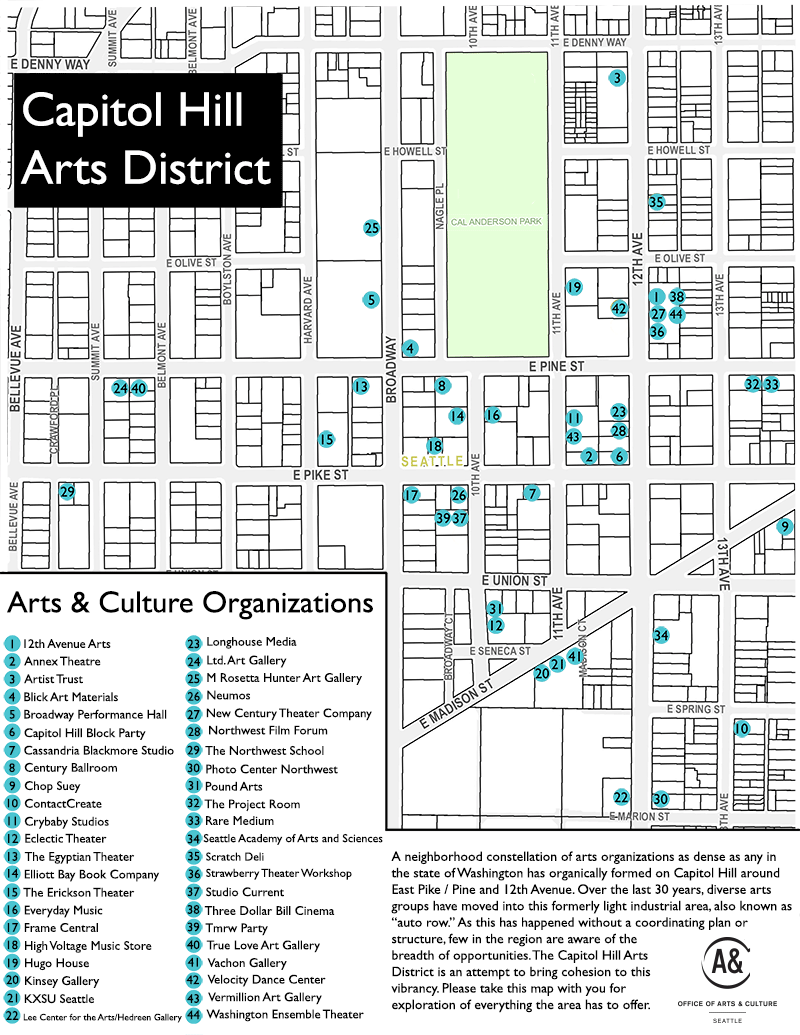 Arts & Cultural Districts - Arts | seattle.gov