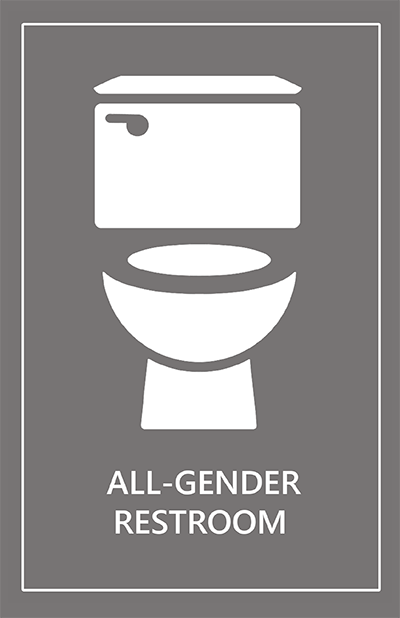 All-Gender Restroom Postcard