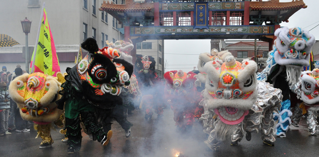 Lunar New Year Celebration in Seattle's Chinatown/International District - Seattle Special Events - Photo by Flickr user Joe Mabel