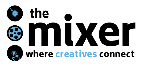 The Mixer: where creatives connect (logo)