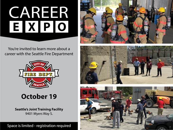 2019 Seattle Firefighter Career Expo