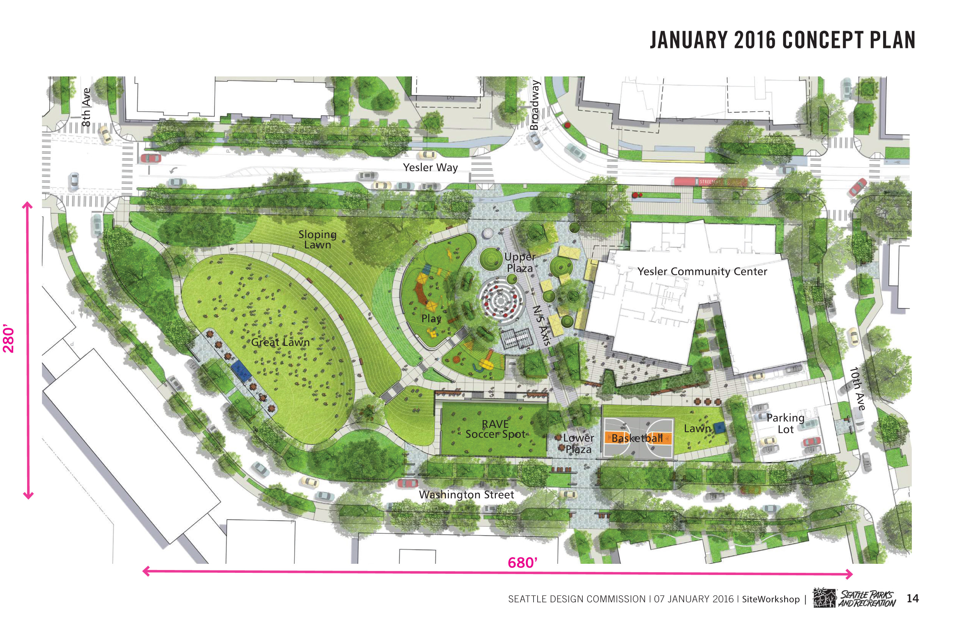 Yesler terrace park parks for Planner site