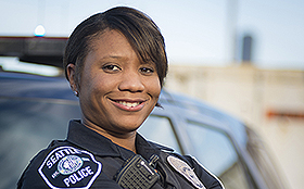 Women in Policing - Officer Herrera
