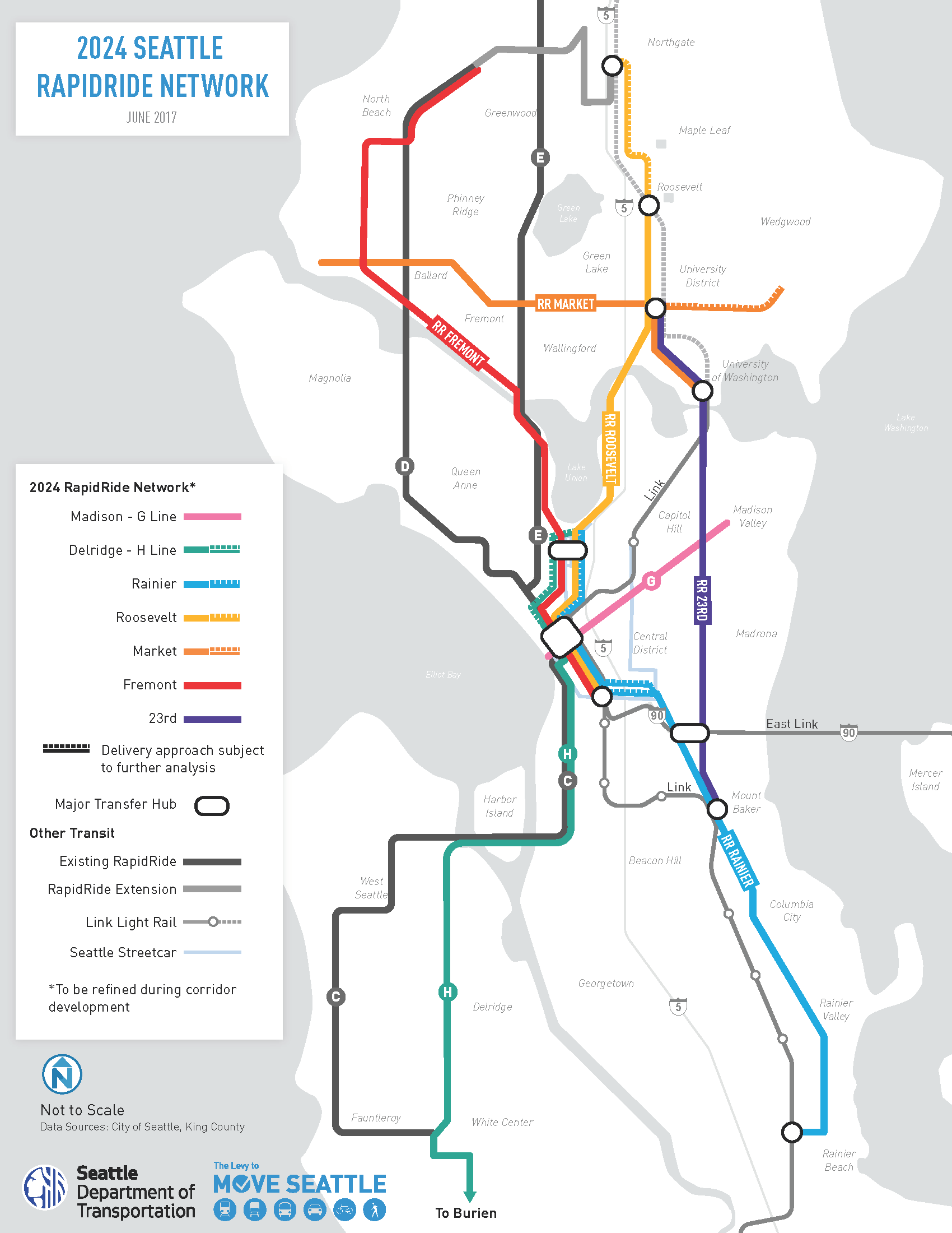 RapidRide Transportation seattlegov