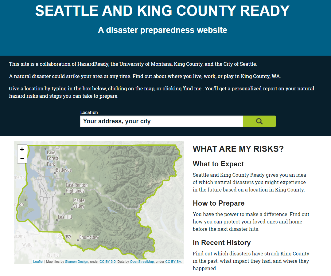 Seattle King County Ready