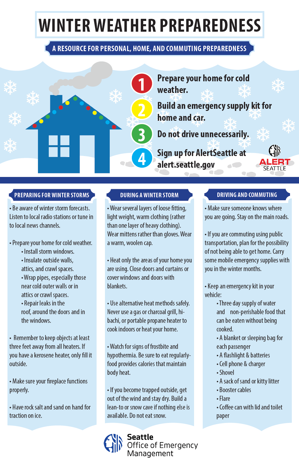 Tips on winter weather preparedness