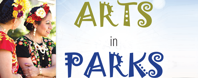 "Put the Arts in Parks brochure <span class=""glyphicon glyphicon-new-window""></span>"