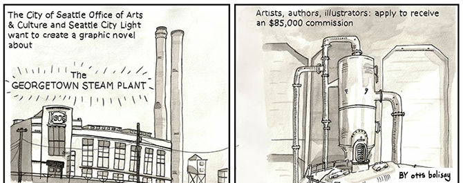 Georgetown Steam Plant Graphic Novel