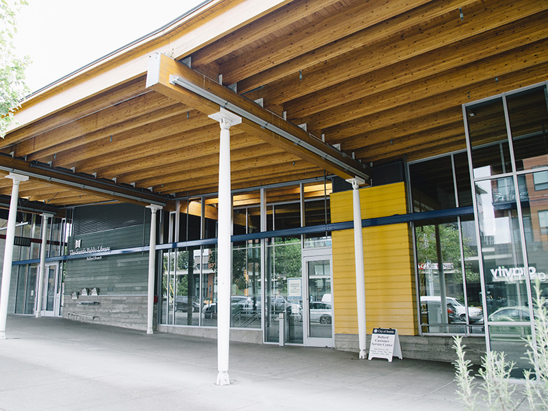 Exterior of the Ballard Customer Service Center