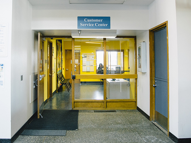 Entrance to the Southwest Customer Service Center