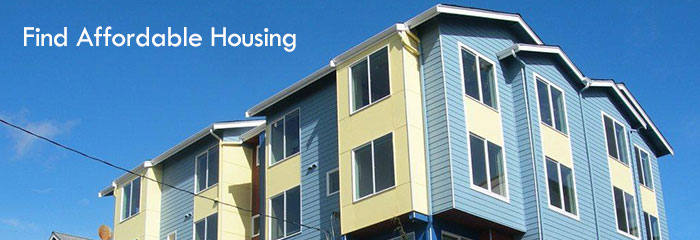 how to find affordable housing