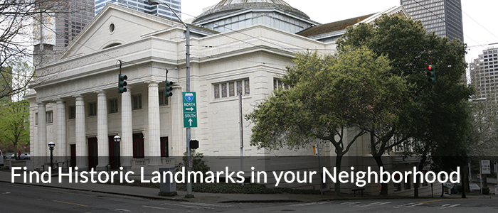 Find Historic Landmarks in your Neighborhood