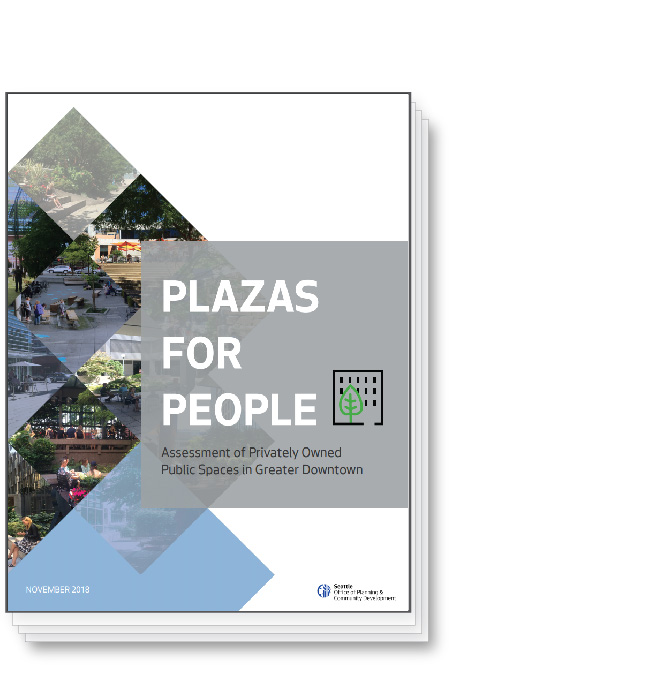 Plazas for People Report Cover