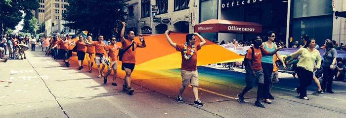 Seattle Pride Parade 2014