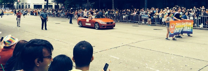 Seattle Pride Parade 2014 - Grand Marshall George Takei
