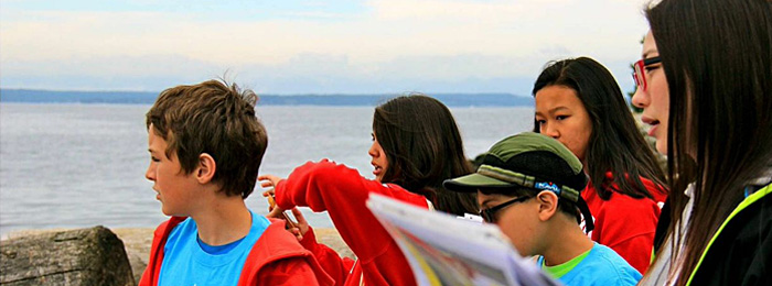 Community engagement isn't just for grownups. We've worked with our partner organizations to get children and teenagers involved in Seattle's new waterfront.