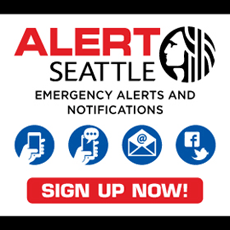 AlertSeattle - Sign up now