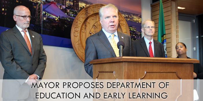 Press conference: Department of Education and Early Learning