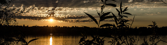 Sunset on Greenlake photo