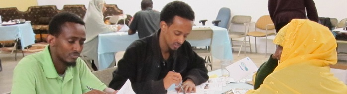 Focus Group at Somali Community Services in Seattle