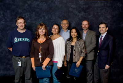 Larry Works, Carol Anderson-McCall, Shaya York, Jess Valmonte, Fely Mortel, Brad Combs