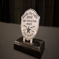 Snapshot of the new Light, Power & Pride award