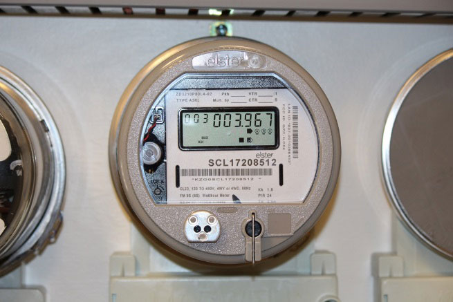 how to read electric meter seattle