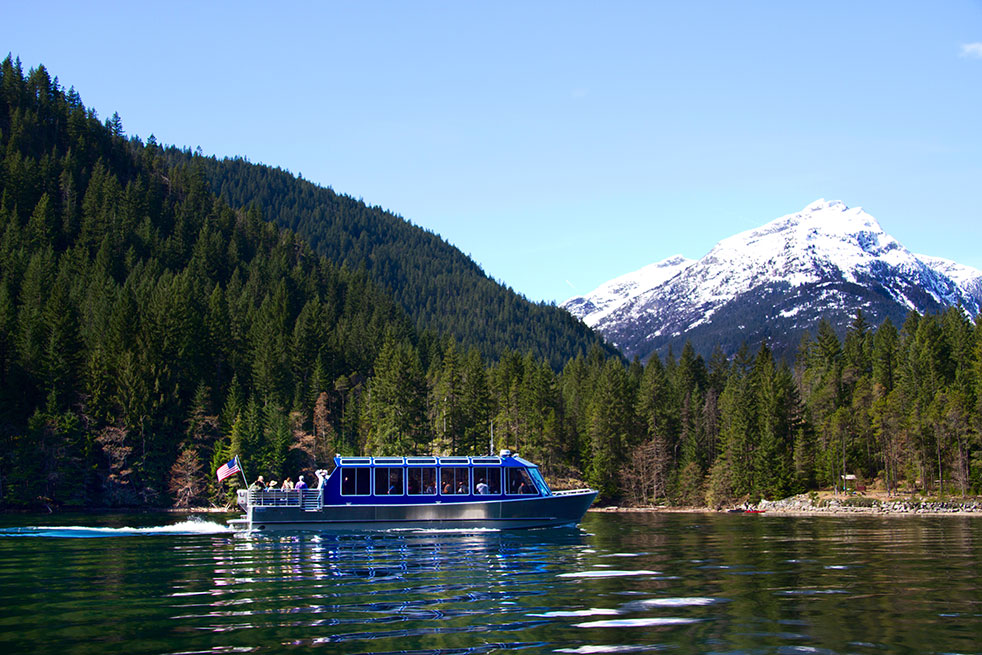Diablo Lake Boat Tour