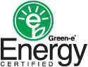 green-e title with logo