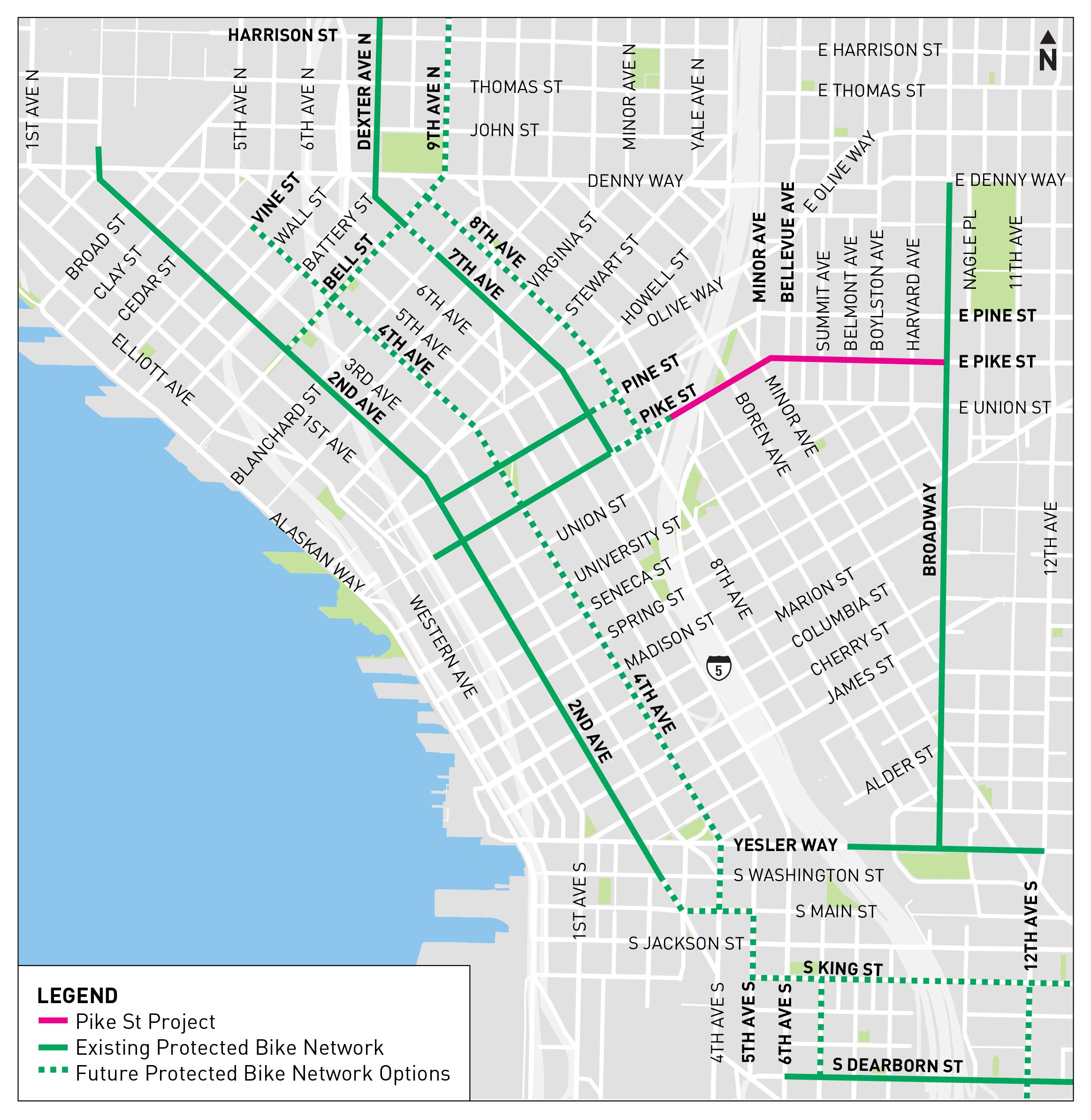 Pike St Mobility Improvements Transportation Seattle Gov