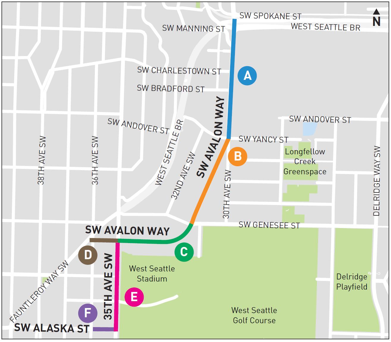 Avalon Construction Map