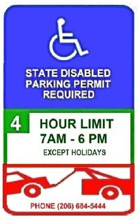 Disabled Parking in the City of Seattle - Transportation | seattle gov