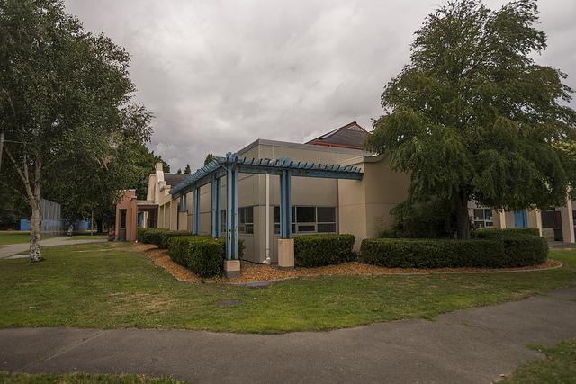 South Park Community Center Entrance