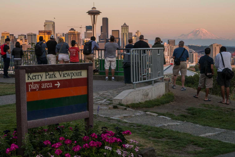 Kerry Park Franklin Place Parks Seattle Gov