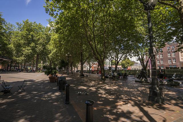 Occidental Square Parks Seattle Gov