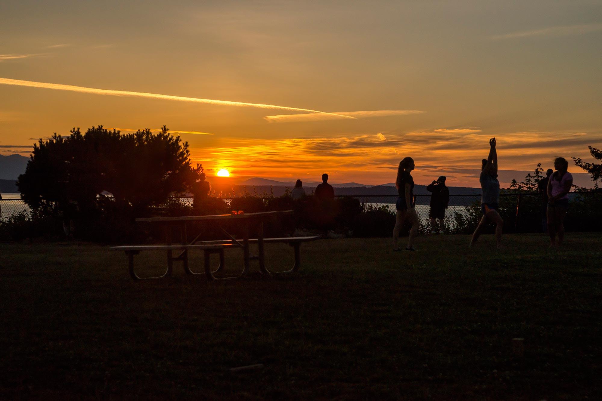 Sunset Hill Park Parks Seattle Gov